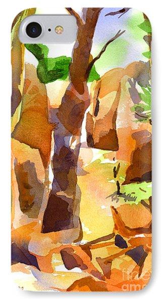 Pathway Through Elephant Rocks 1b Phone Case by Kip DeVore