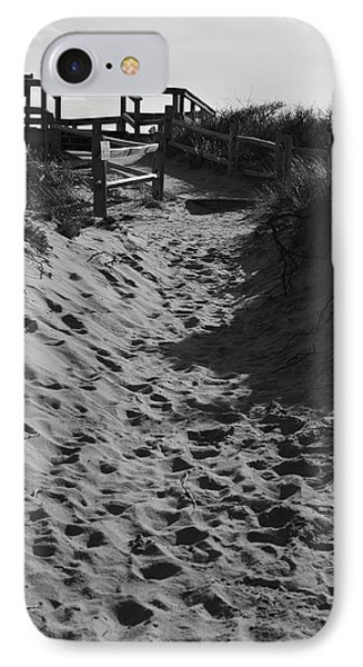 Pathway Through The Dunes IPhone Case