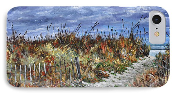 Pathway To North Myrtle Beach IPhone Case by Craig T Burgwardt