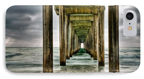 Pathway To The Light IPhone Case by Aron Kearney