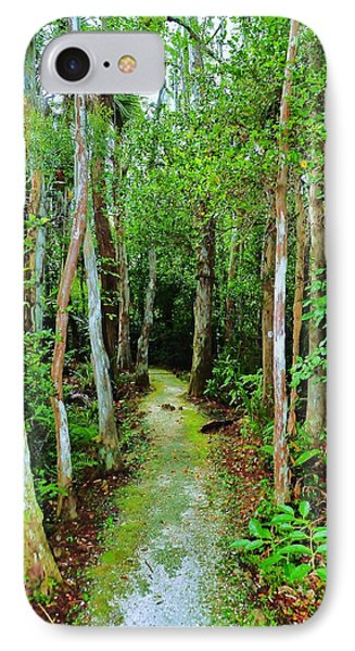 Pathway To The Rainforest Phone Case by Kicking Bear  Productions