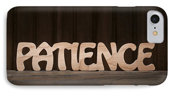 Patience IPhone Case by Donald  Erickson
