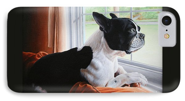 Patiently Waiting IPhone Case by Mike Ivey