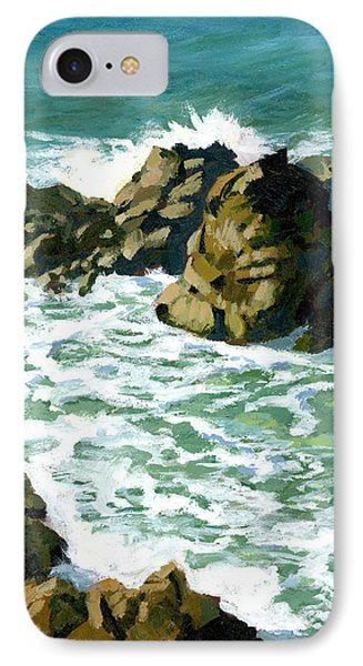 Patricks Point Rocks Phone Case by Alice Leggett