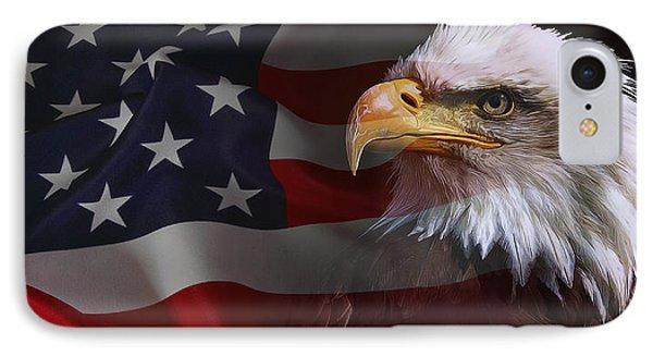 Patriot United States IPhone Case