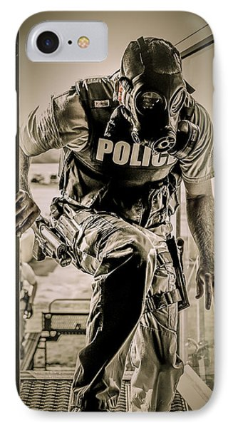 Patriot3 Second Floor Entry IPhone Case by David Morefield