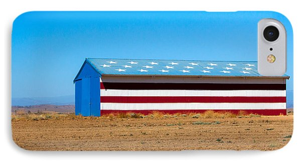 Patriotic Barn IPhone Case