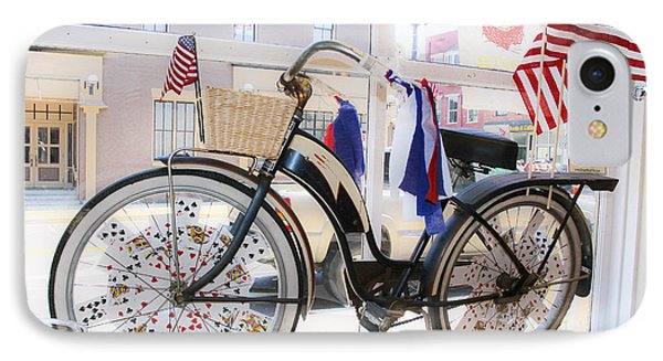 Patriotic Bicycle Phone Case by Cindy Archbell