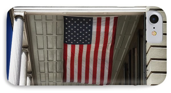 Patriotic Charleston Phone Case by John Rizzuto