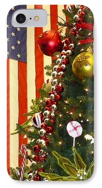 Patriotic Christmas Photograph by Carol Groenen