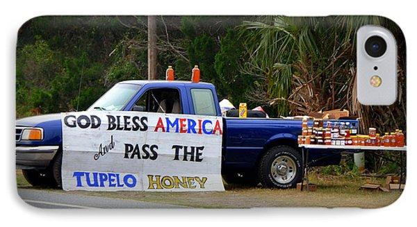 Patriotic Honey Salesman Phone Case by Carla Parris