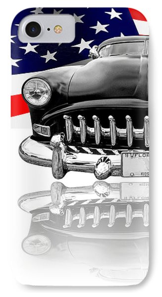 Patriotic Hudson 1952 IPhone Case by Gill Billington