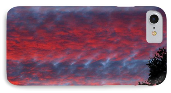 IPhone Case featuring the photograph Patriotic Sky At Sunset by Geri Glavis