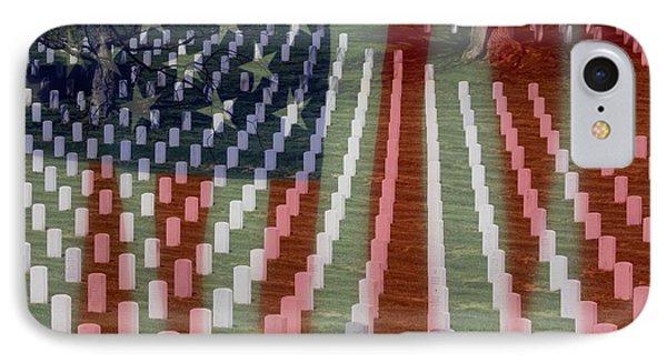 Patriotism IPhone Case by Patti Whitten