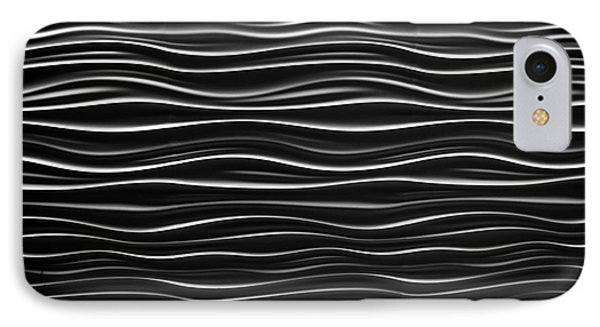 Pattern Of Waves Phone Case by Amy Cicconi