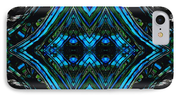 Patterned Art Prints - Cool Change - By Sharon Cummings IPhone Case by Sharon Cummings