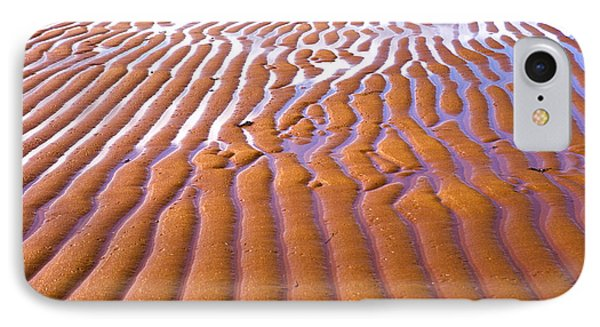 Patterns In The Sand IPhone Case by Diane Diederich