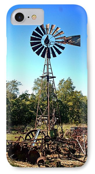 Patterson Windmill Phone Case by Marty Koch