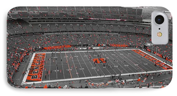 Paul Brown Stadium IPhone Case by Dan Sproul