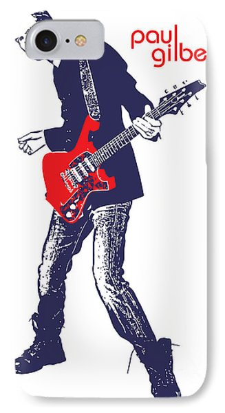 Paul Gilbert No.01 Phone Case by Caio Caldas