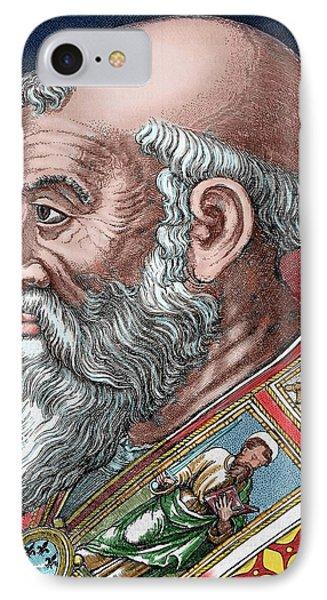 Paul IIi (rome, 1468-canino, 1549 IPhone Case
