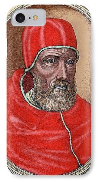 Paul Iv (capriglia, 1476-rome, 1559 IPhone Case