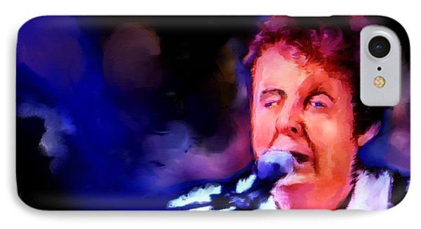 Paul Mccartney IPhone Case by Ted Azriel