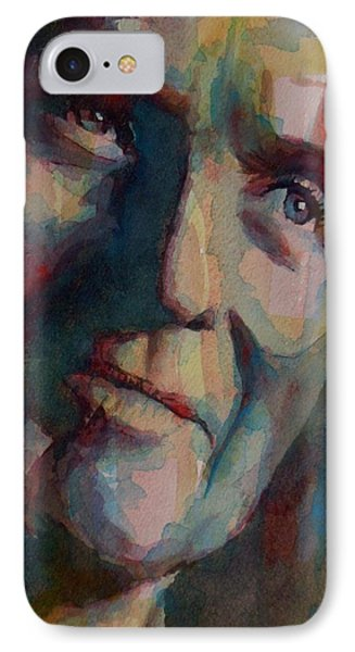 Paul Newman IPhone Case by Paul Lovering