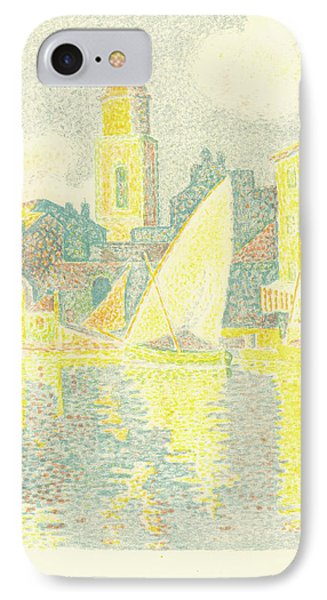 Paul Signac French, 1863 - 1935 IPhone Case by Quint Lox
