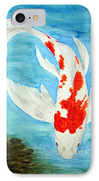 Paul's Koi IPhone Case by Marna Edwards Flavell