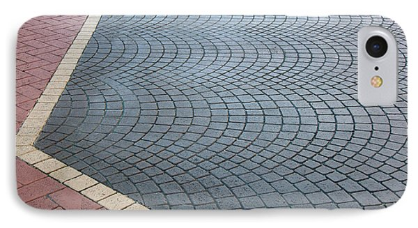 IPhone Case featuring the photograph Paving Bricks by Pete Trenholm
