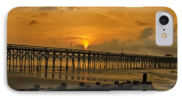 Pawleys Island Sunrise IPhone Case by Bill Barber
