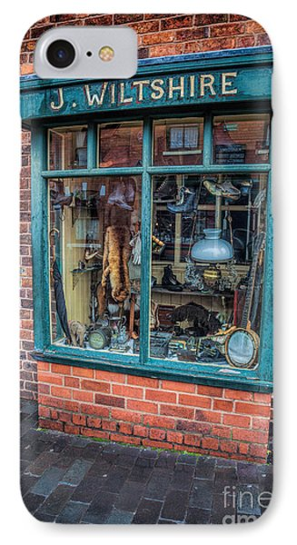 Pawnbrokers Shop IPhone Case by Adrian Evans