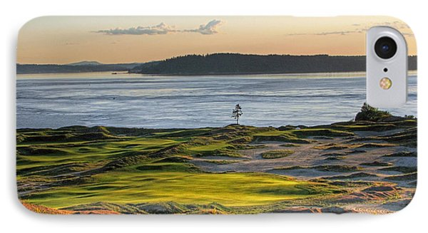 IPhone Case featuring the photograph Pax - Chambers Bay Golf Course by Chris Anderson