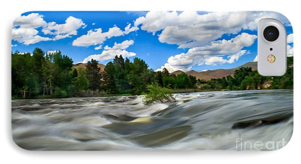 Payette River Phone Case by Robert Bales