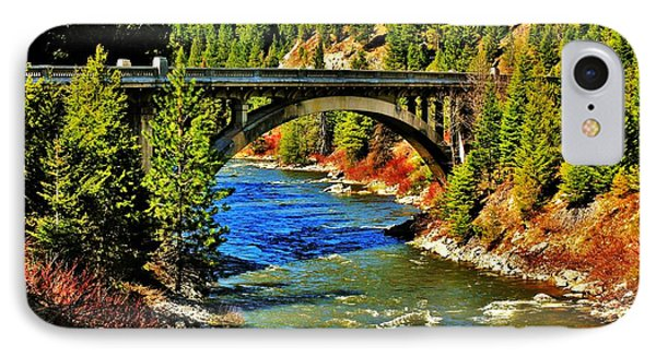 Payette River Scenic Byway IPhone Case by Benjamin Yeager