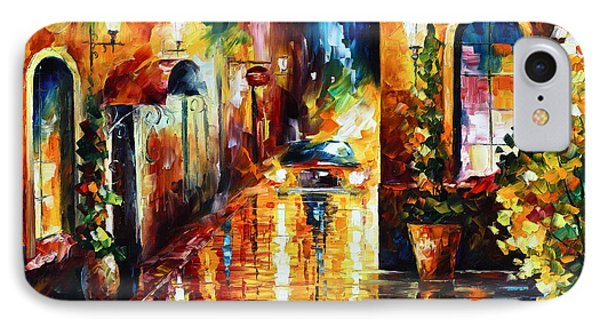 Paying A Visit New Phone Case by Leonid Afremov