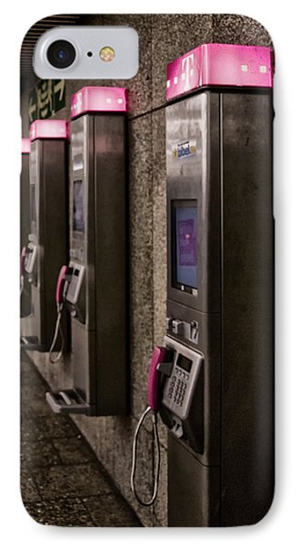 Payphones? IPhone Case by Anthony Citro