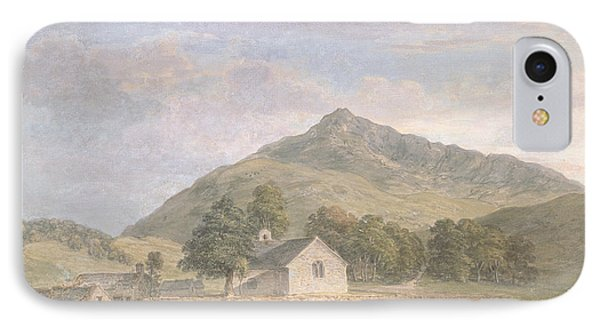 Haymaking At Dolwyddelan IPhone Case by Paul Sandby