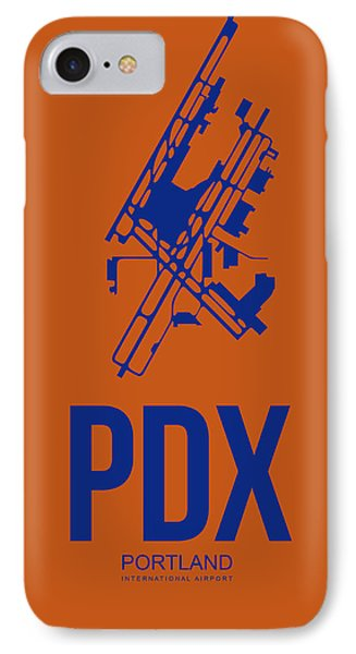 Pdx Portland Airport Poster 1 IPhone Case
