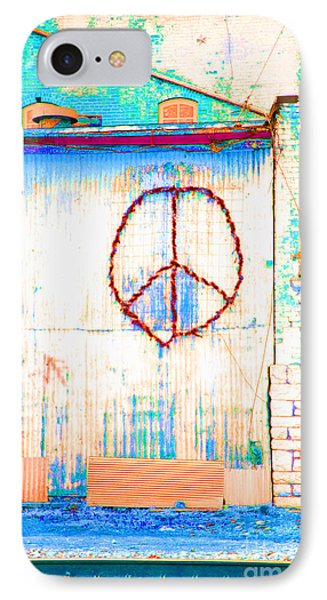 Peace 1 IPhone Case by Minnie Lippiatt