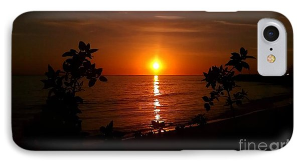 Peace At The Beach IPhone Case by Chris Tarpening