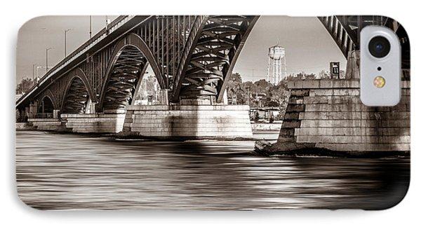 Peace Bridge IPhone Case