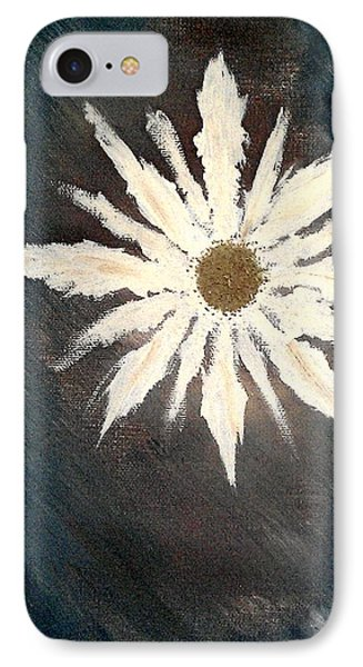 IPhone Case featuring the painting Peace Flower by Jacqueline McReynolds