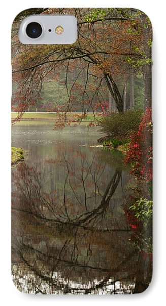 Peace In A Garden IPhone Case by Kathy Clark
