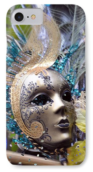 IPhone Case featuring the photograph Peace In The Mask by Amanda Eberly-Kudamik