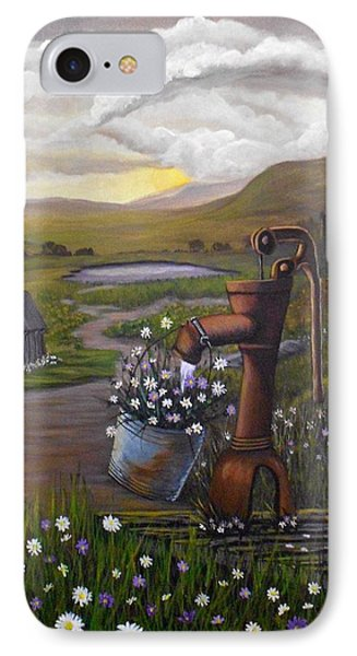 Peace In The Valley IPhone Case by Sheri Keith