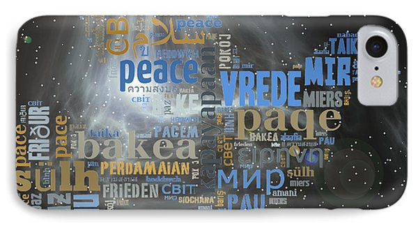Peace Is A Universal Language IPhone Case by Barbara Giordano