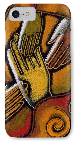 Peace IPhone Case by Leon Zernitsky