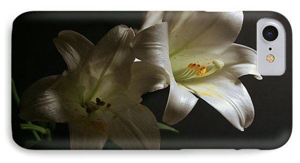 Peace Lily IPhone Case by Cathy Harper